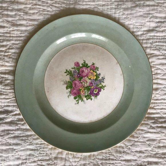 Vintage Other - Vtg French Saxon Dinner Plate